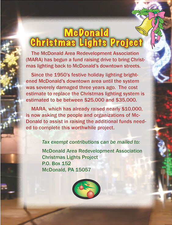 McDonald Christmas Lights Ptoject