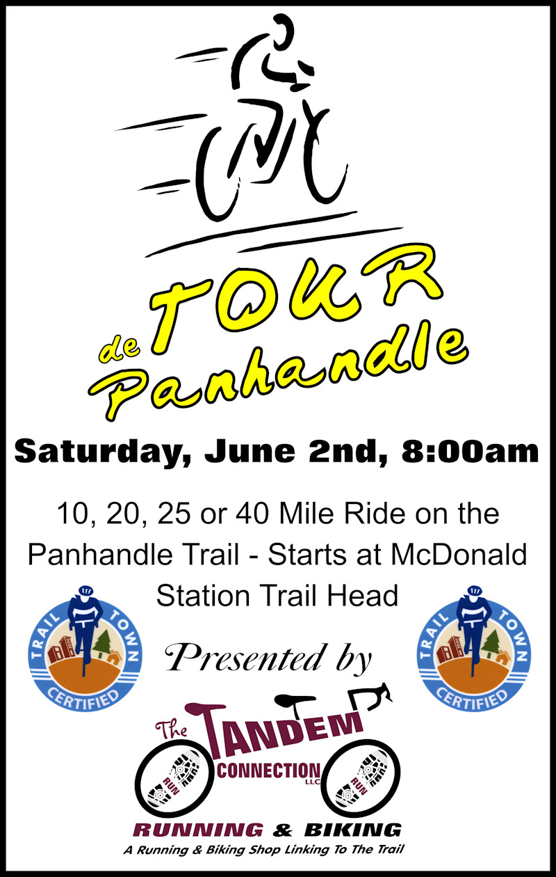 Tour the Panhandle Trail event coincides
