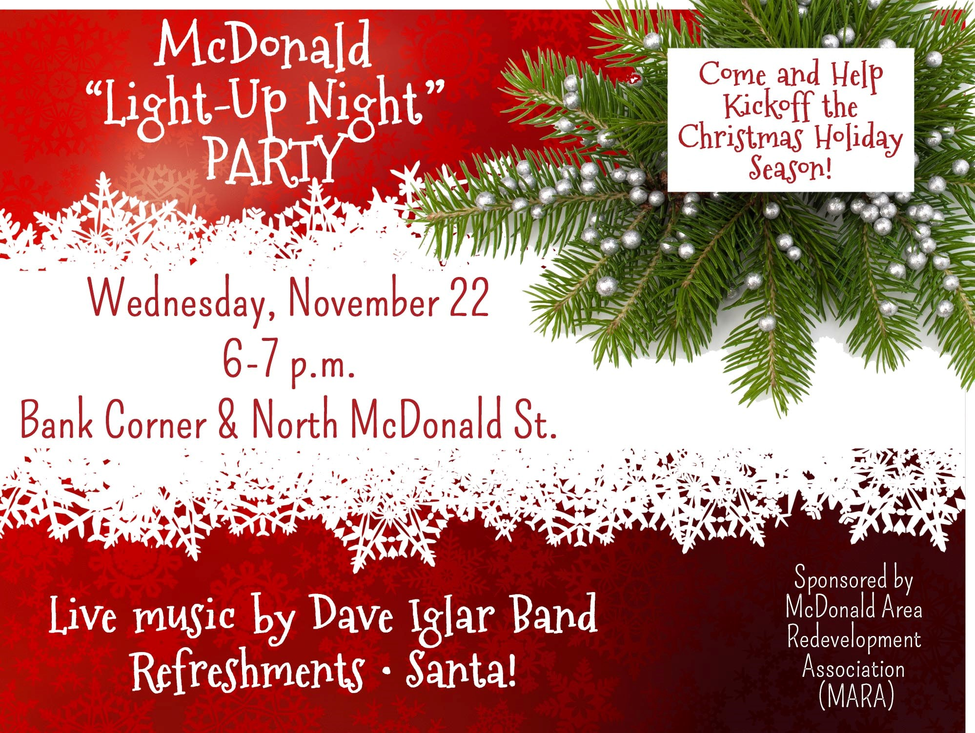 McDonald Light Up Night